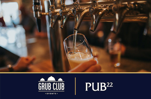 Grub Club Events - The Pub Show - March 2021
